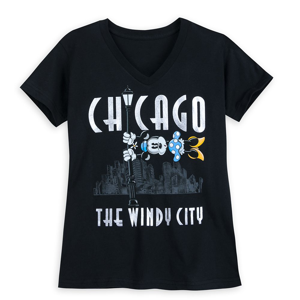Minnie Mouse Chicago T-Shirt for Women