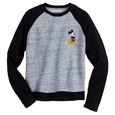 Mickey Mouse Raglan Fashion Pullover for Juniors
