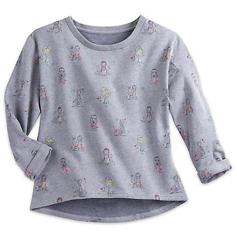 Disney Animators' Collection Sweatshirt for Women