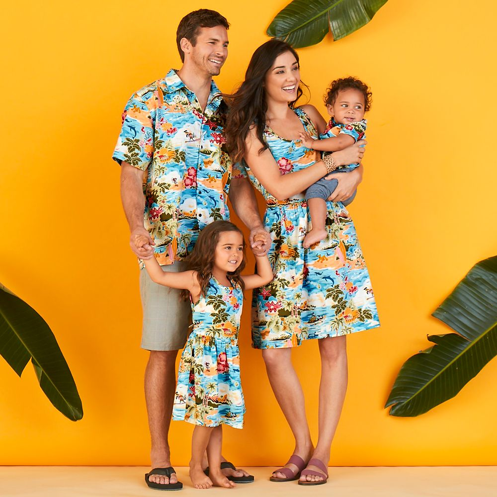 Mickey Mouse and Friends Hawaiian Dress for Women