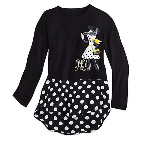 Minnie Mouse Signature Long Sleeve Top for Juniors