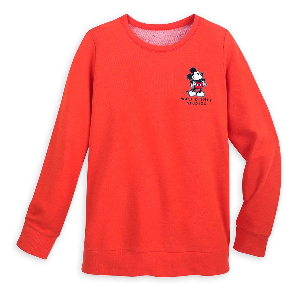 Mickey Mouse Pullover Sweatshirt for Women – Walt Disney Studios