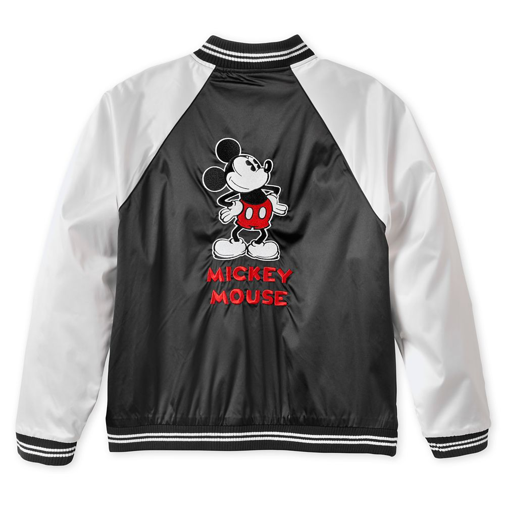 Mickey Mouse Bomber Jacket for Women – Walt Disney Studios