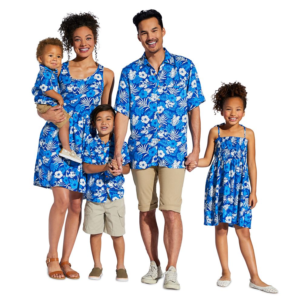 Mickey Mouse and Friends Aloha Shirt for Men – Disney Hawaii