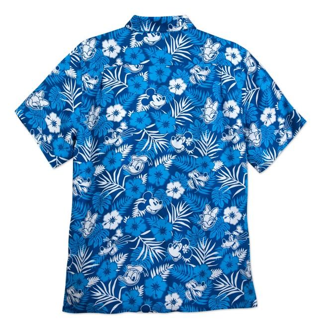 Mickey Mouse and Friends Aloha Shirt for Men – Disney Hawaii
