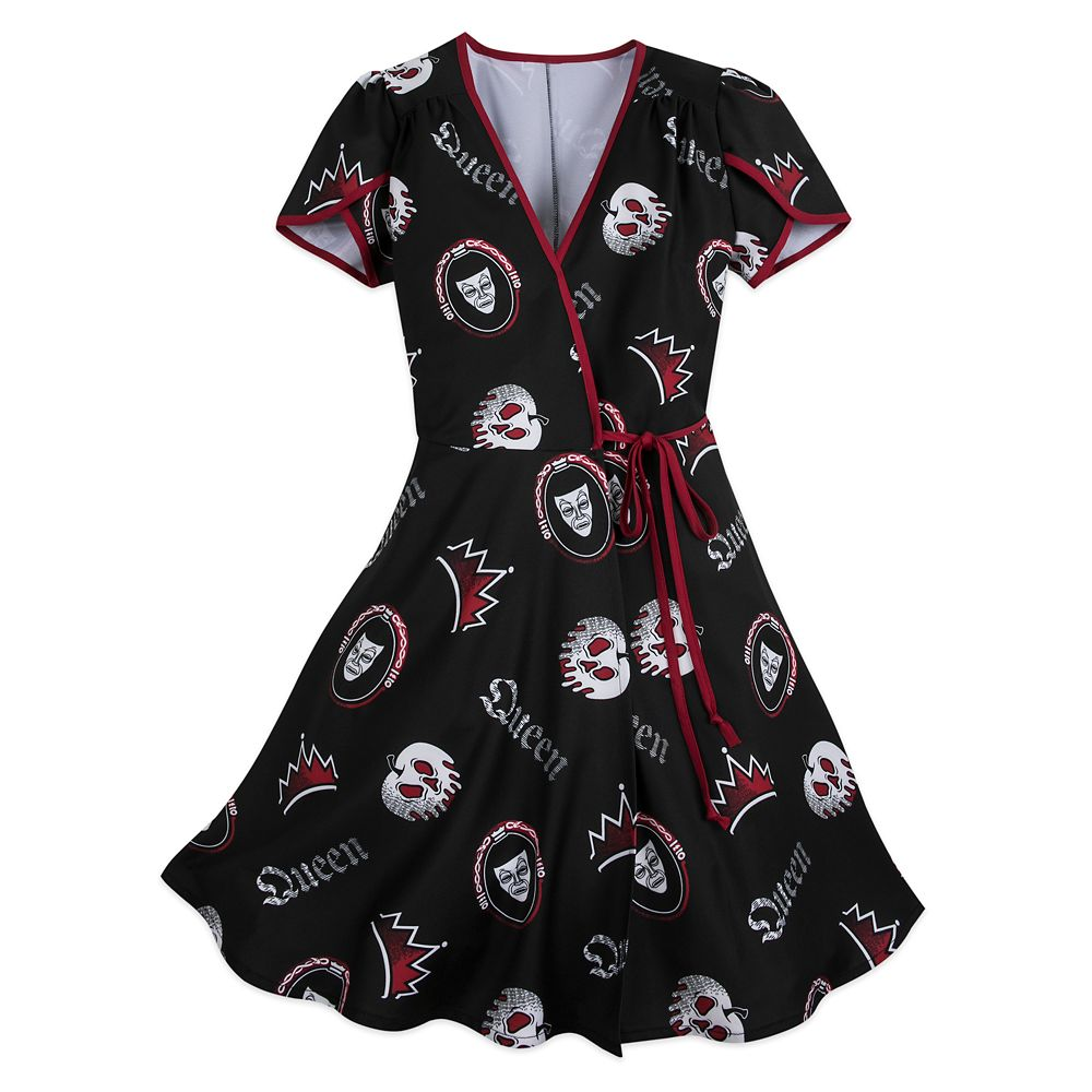Evil Queen Wrap Dress for Women