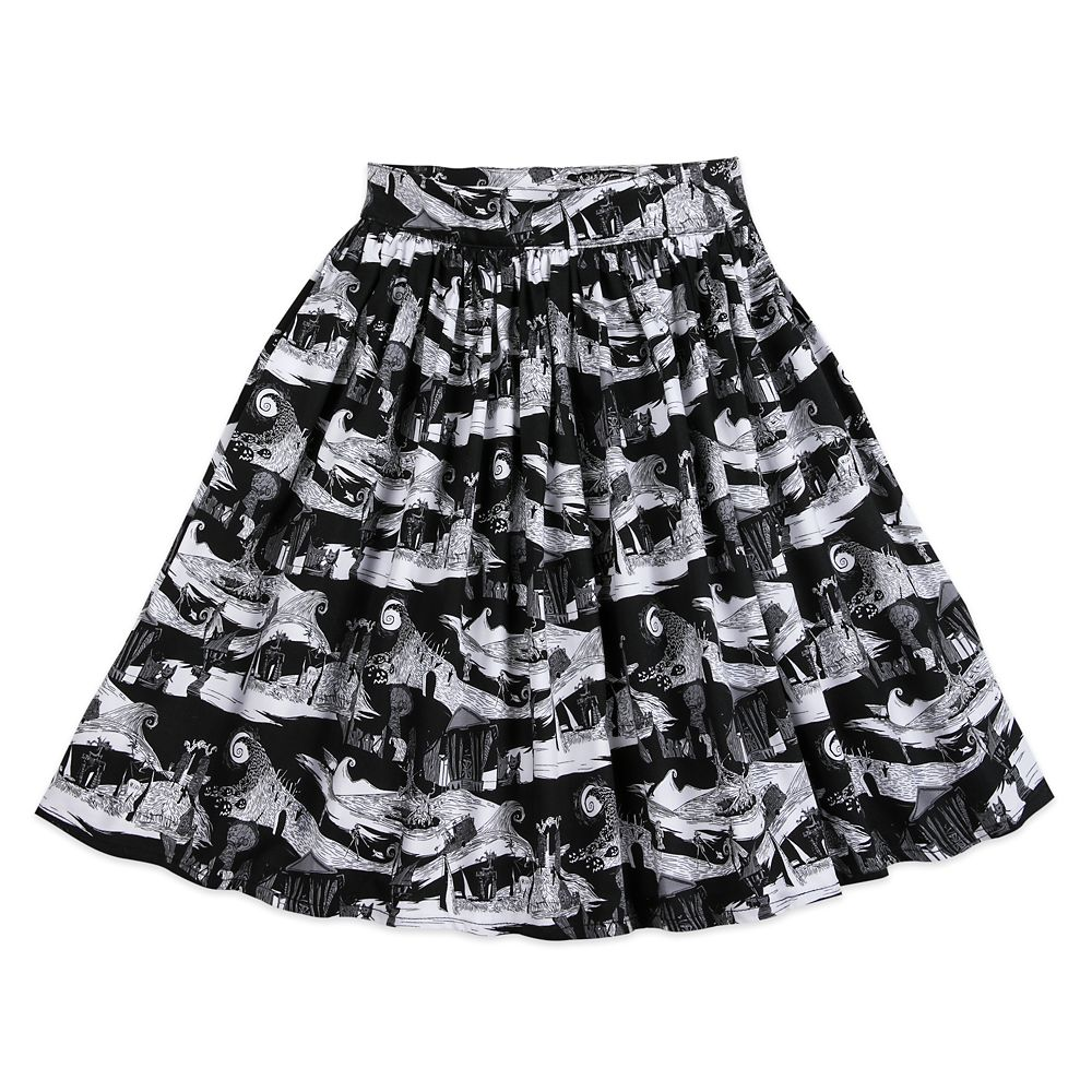 The Nightmare Before Christmas Pleated Skirt