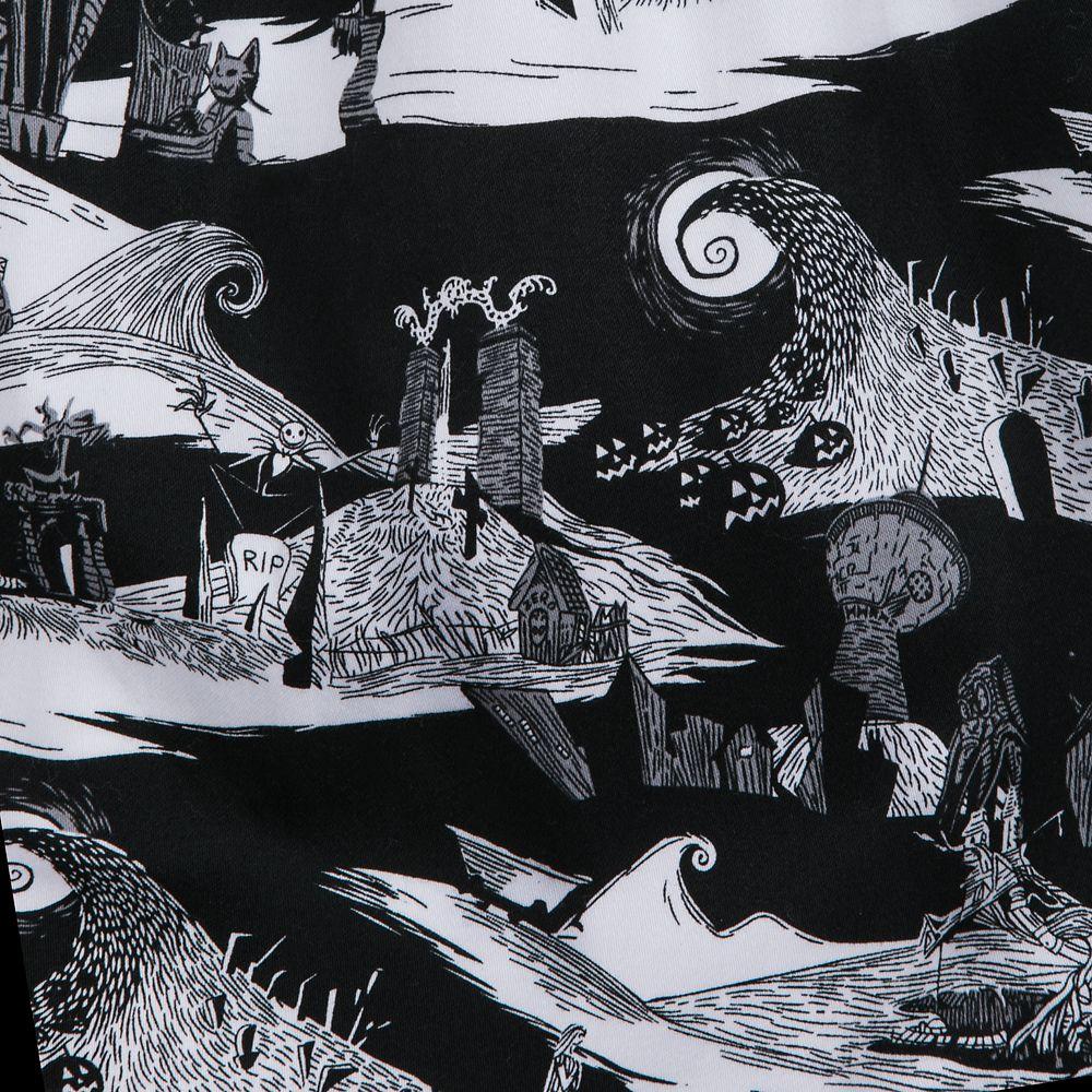 Nightmare Before Christmas Illustration.The Nightmare Before Christmas Pleated Skirt