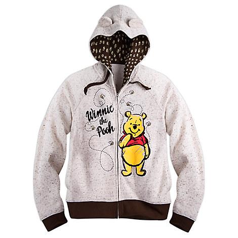 Winnie the Pooh Zip Fleece Hoodie for Women