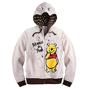 Winnie the Pooh Hoodie for Women - Plus Size
