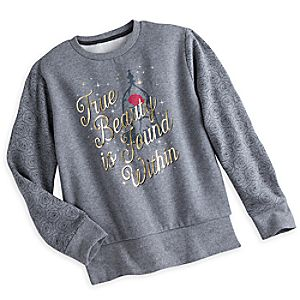 Beauty and the Beast Fleece Top for Women – Live Action