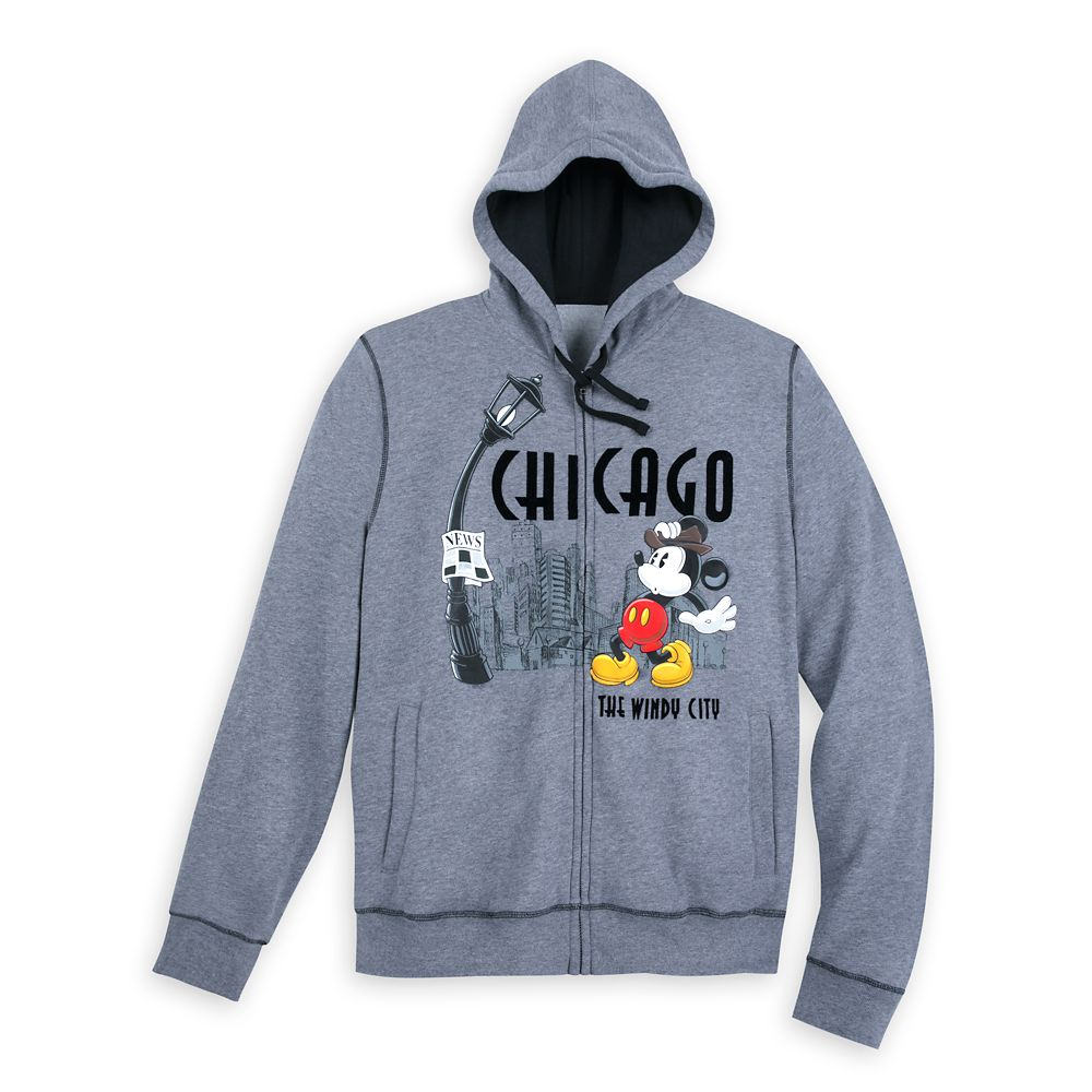 Mickey Mouse Hoodie for Men – Chicago