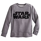 Star Wars Logo Long Sleeve Pullover Top for Juniors