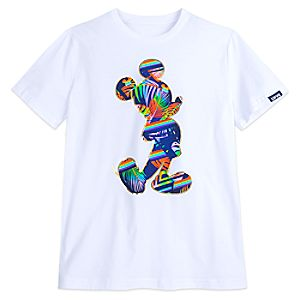 Rainbow Disney Collection Mickey Mouse T-Shirt for Adults