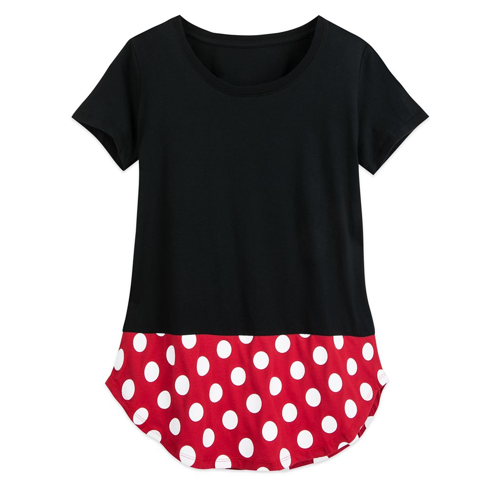 Minnie Mouse Costume T-Shirt for Women