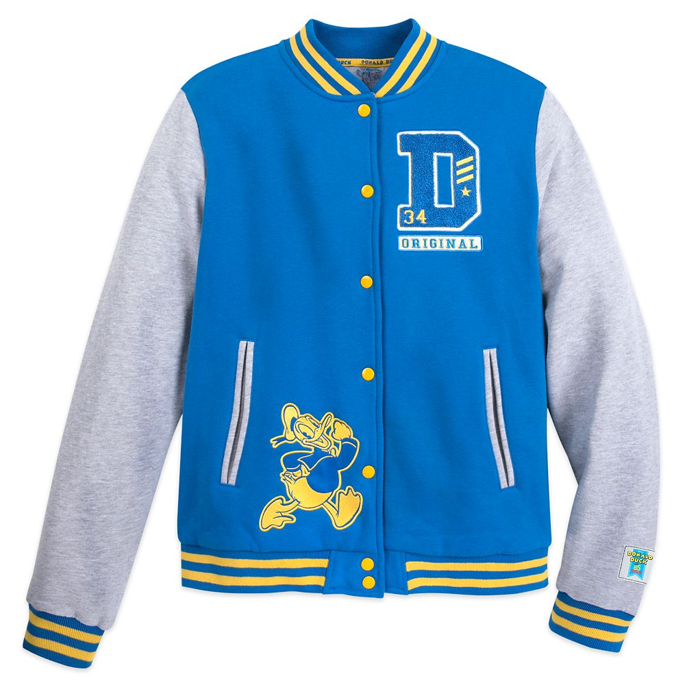 Donald Duck Varsity Jacket for Men – 85th Anniversary