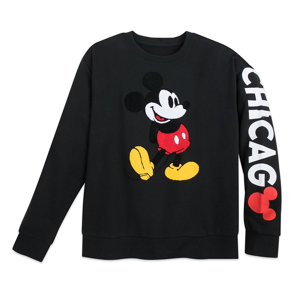 Mickey Mouse Pullover Sweatshirt for Men – Chicago