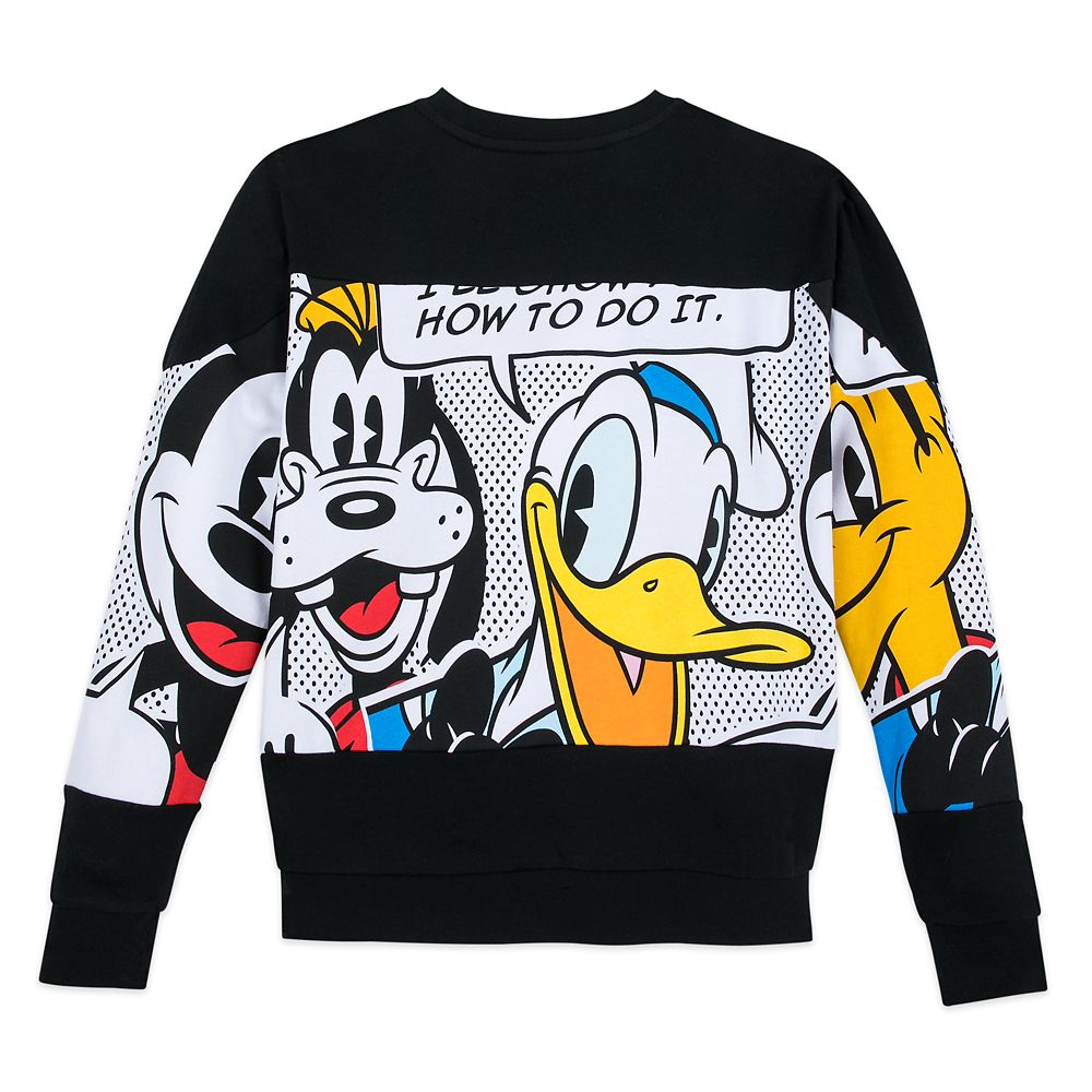 Mickey Mouse and Friends Pullover Sweater for Adults