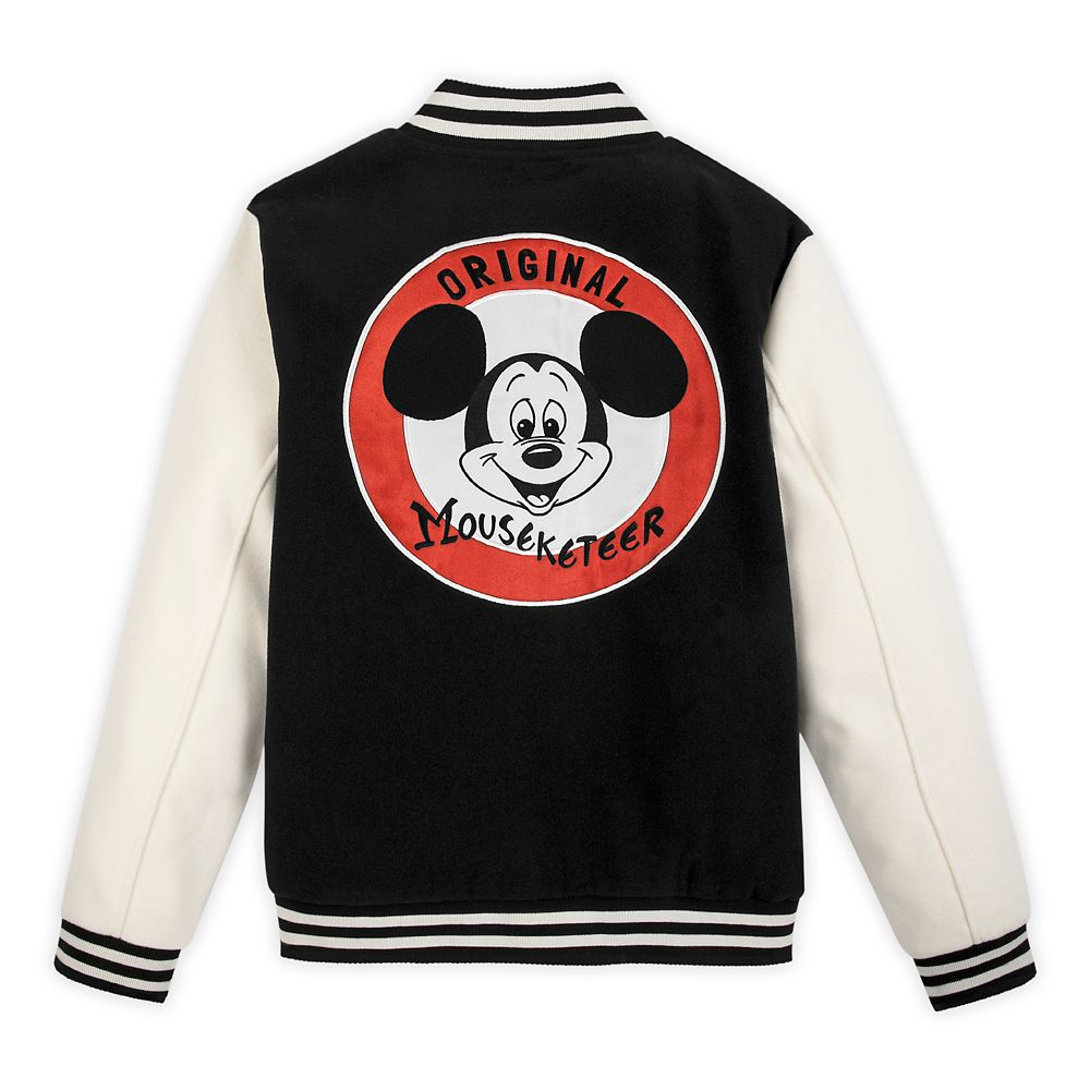 Mickey Mouse Mouseketeer Letterman Jacket for Adults