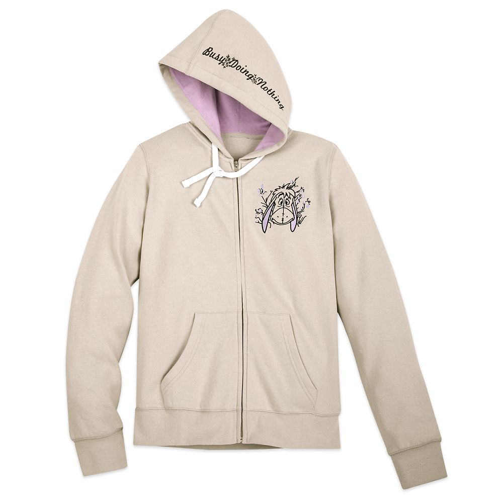 Eeyore Zip Hoodie for Adults