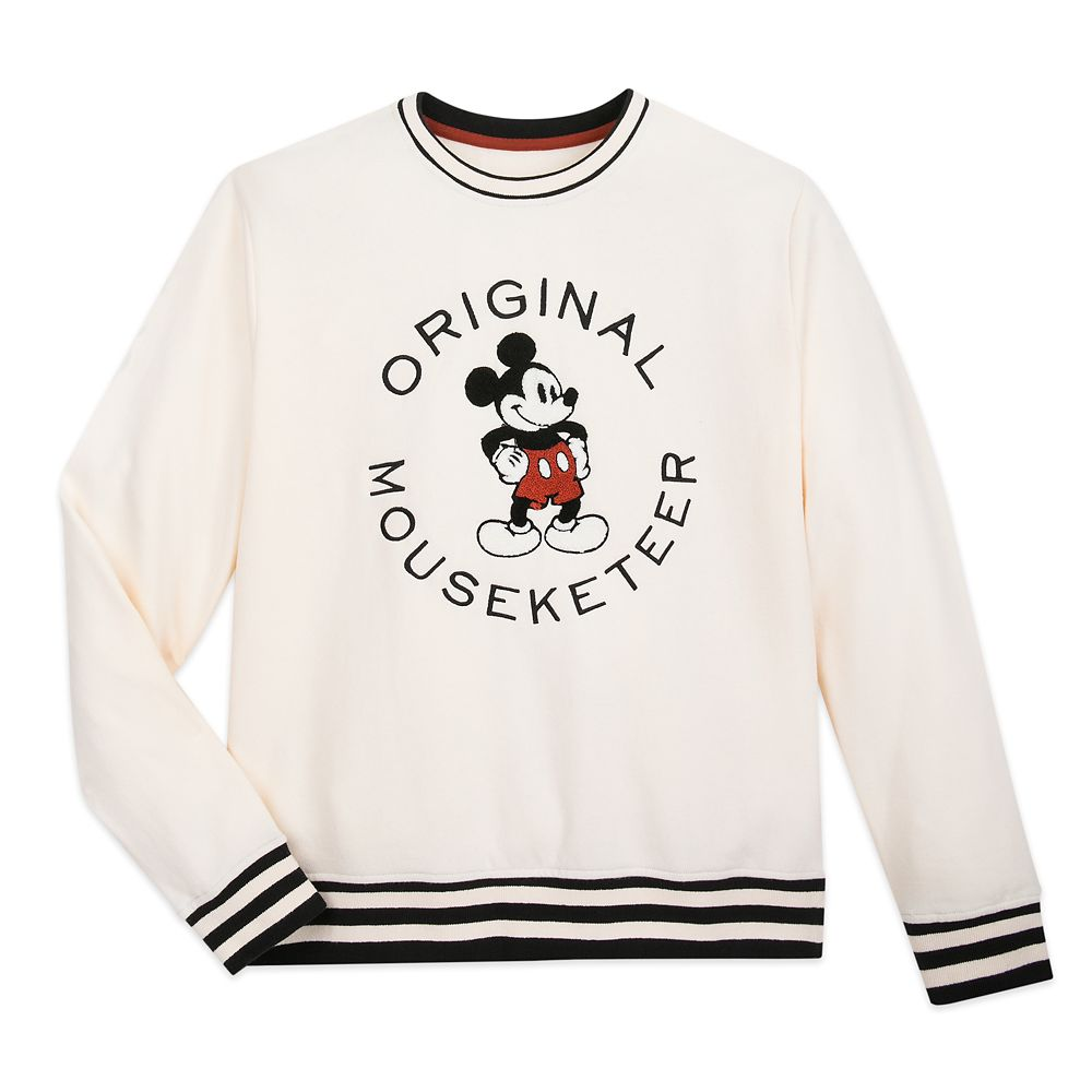 Mickey Mouse Mouseketeer Collegiate Sweatshirt for Women