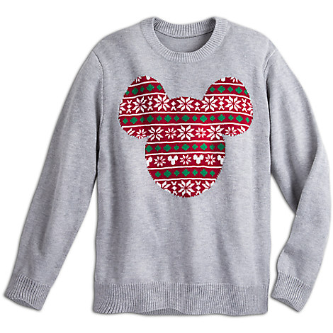 Mickey Mouse Icon Holiday Sweater for Men