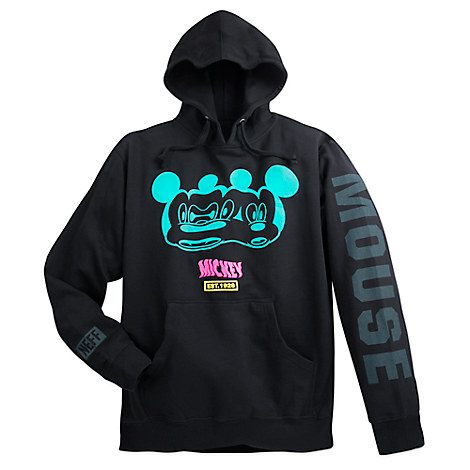 Mickey Mouse Distorted Hoodie for Men by Neff