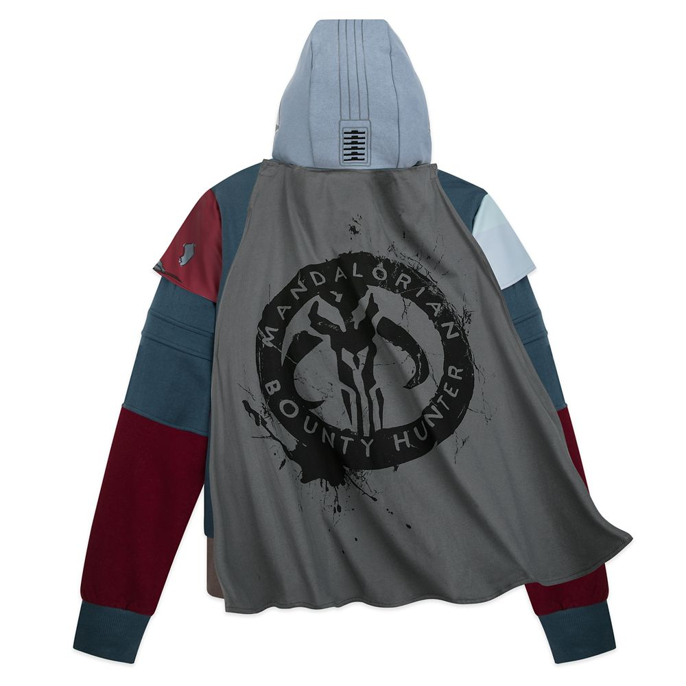 The Mandalorian Bounty Hunter Zip-Up Sweatshirt for Adults – Star Wars