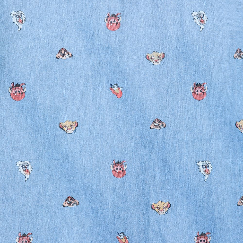 The Lion King Chambray Shirt for Men