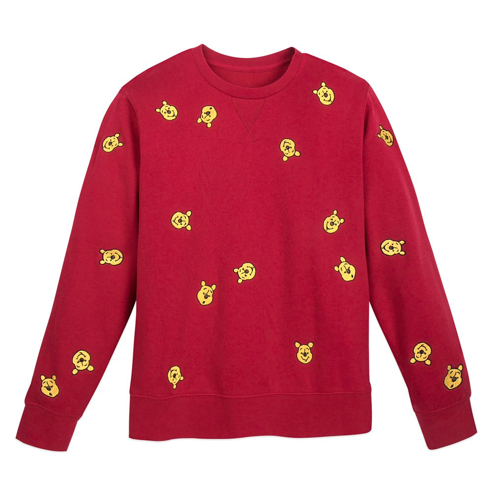 Winnie the Pooh Pullover Sweater for Adults Official shopDisney
