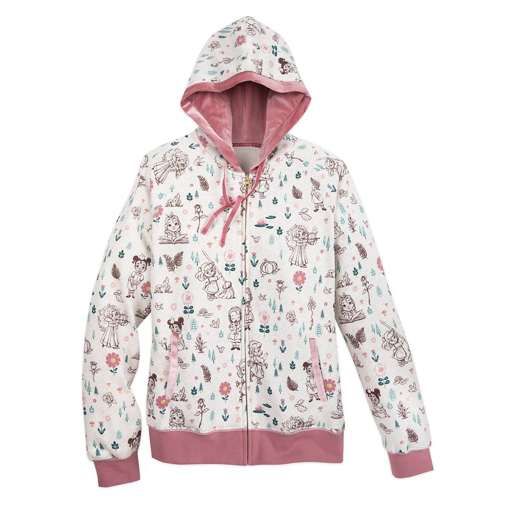Disney Animators' Collection Zip-Up Hoodie for Women