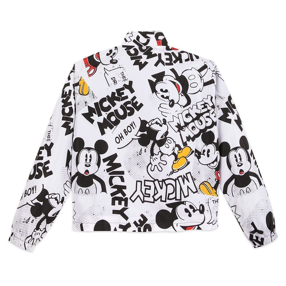 Mickey Mouse Comic Pullover Windbreaker for Women