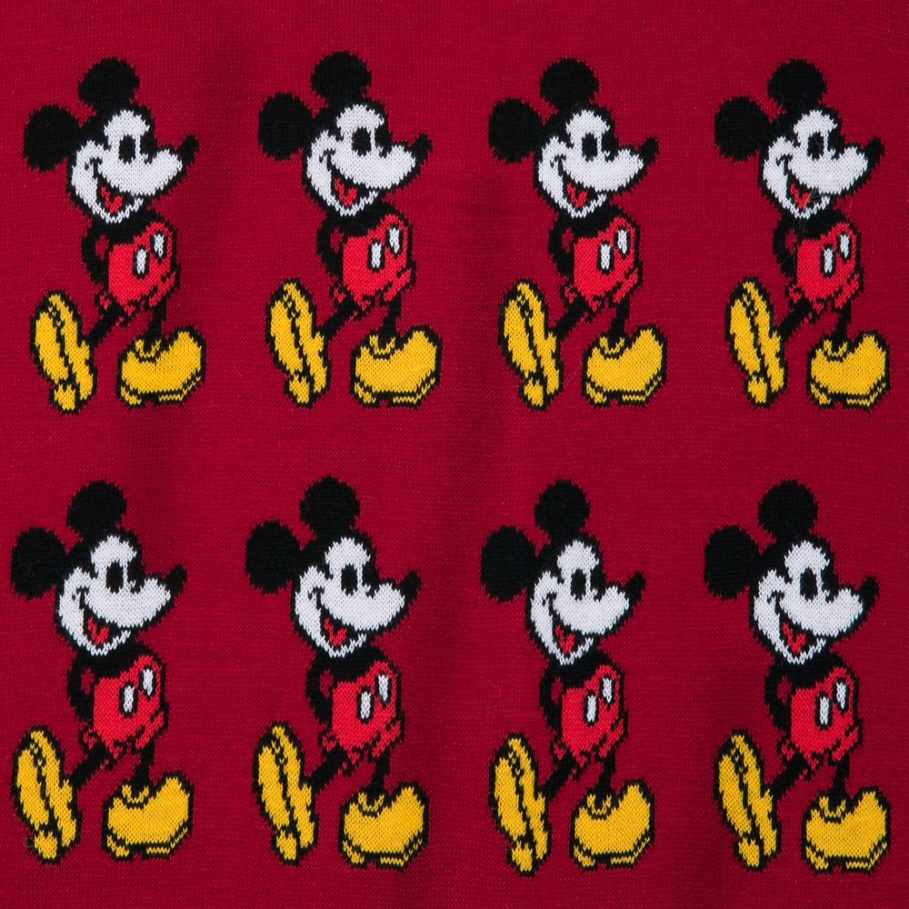 Mickey Mouse Cardigan Sweater for Adults