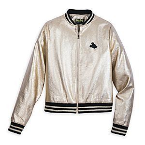 Mickey The True Original Varsity Jacket for Women - Gold Collection
