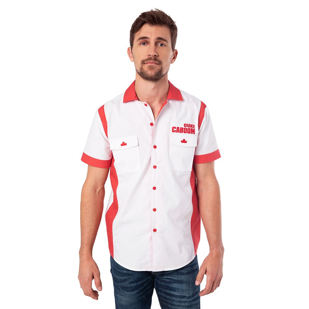 Duke Caboom Button Up Shirt For Men Toy Story 4