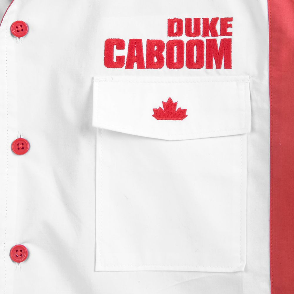 Duke Caboom Button-Up Shirt for Men – Toy Story 4