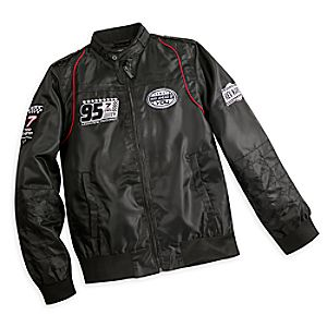 Lightning McQueen Members Only Jacket for Men - Black