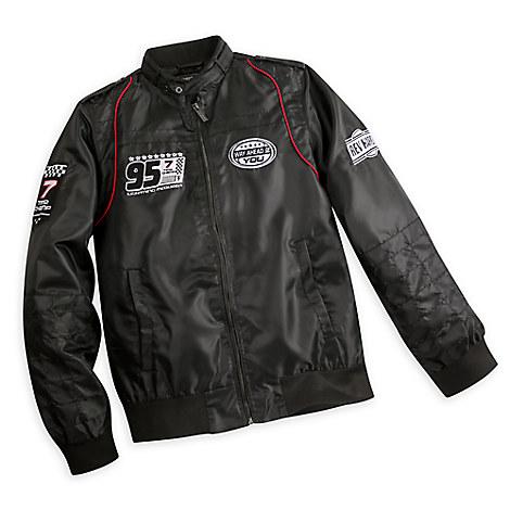 Lightning McQueen Members Only Jacket for Men - Black