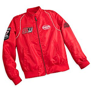 Lightning McQueen Members Only Jacket for Men - Red