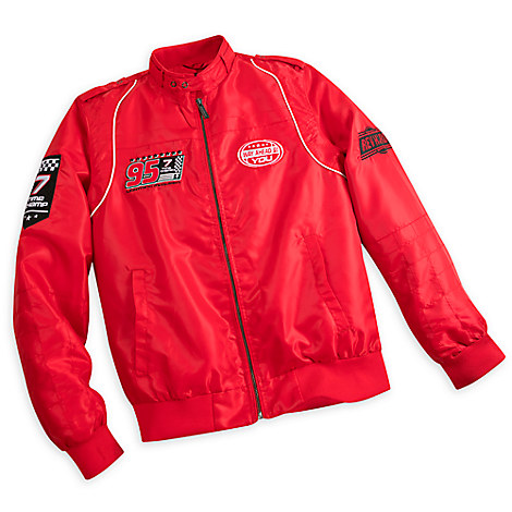 Lightning McQueen Members Only Jacket for Men - Red