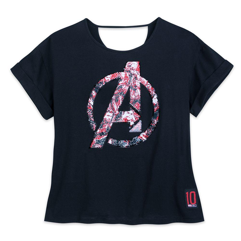 Marvel's Avengers: Endgame Reversible Sequin T-Shirt for Women