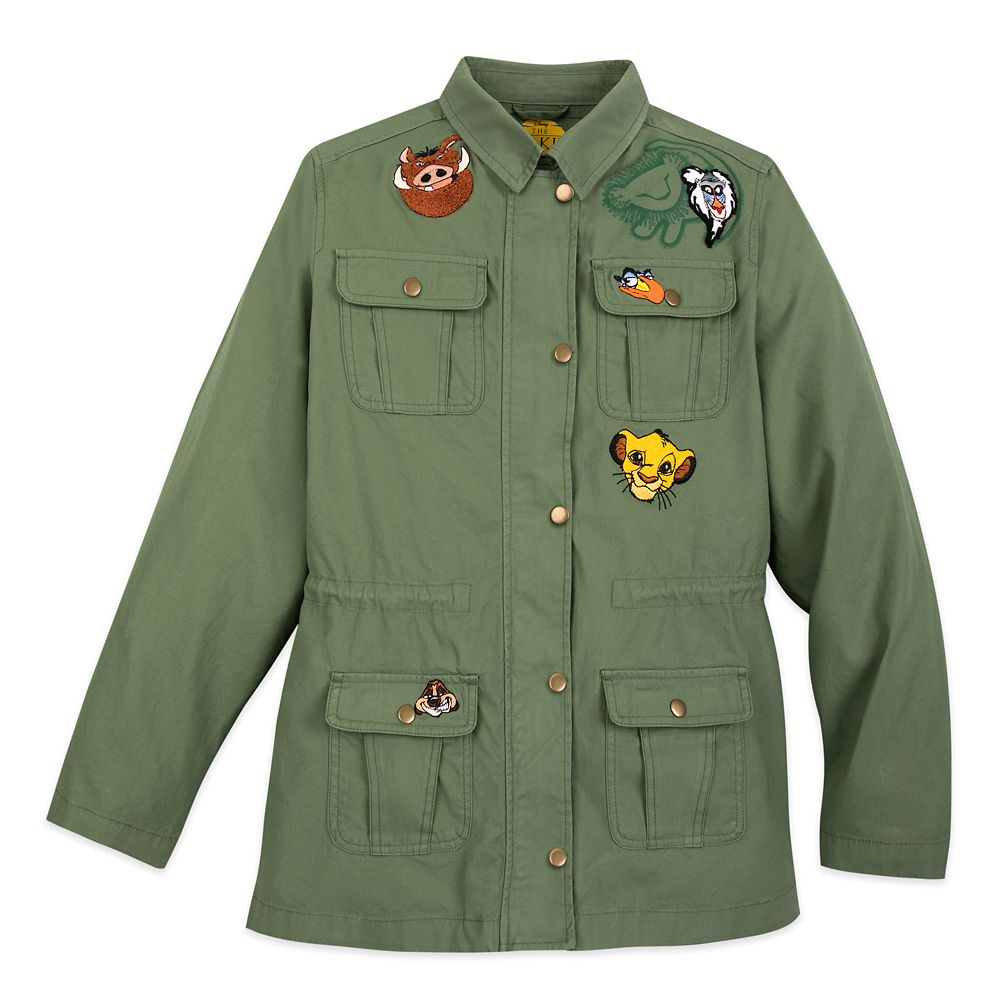 The Lion King Woven Jacket for Women Official shopDisney