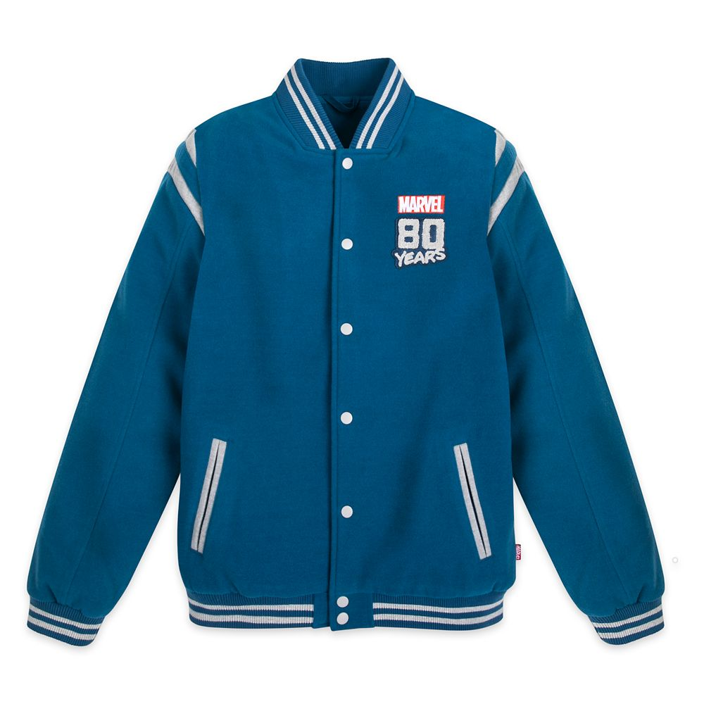 Marvel 80th Anniversary Letterman Jacket for Adults