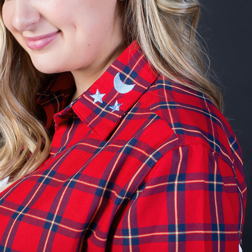 Sorcerer Mickey Mouse Flannel Shirt for Adults by Cakeworthy – Fantasia