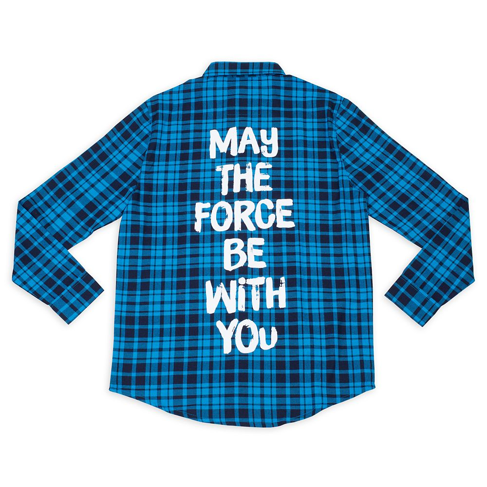 Star Wars ''May the Force Be with You'' Flannel for Adults by Cakeworthy