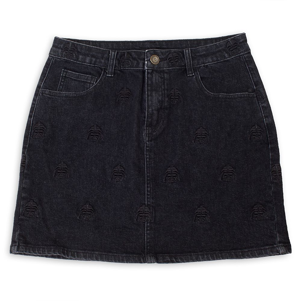 factory outlets premium selection on feet at Darth Vader Denim Skirt for Women by Cakeworthy – Star Wars ...