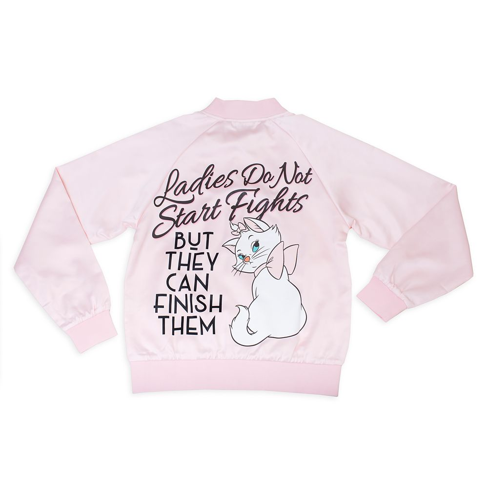 Marie Satin Varsity Jacket for Adults by Cakeworthy – The Aristocats