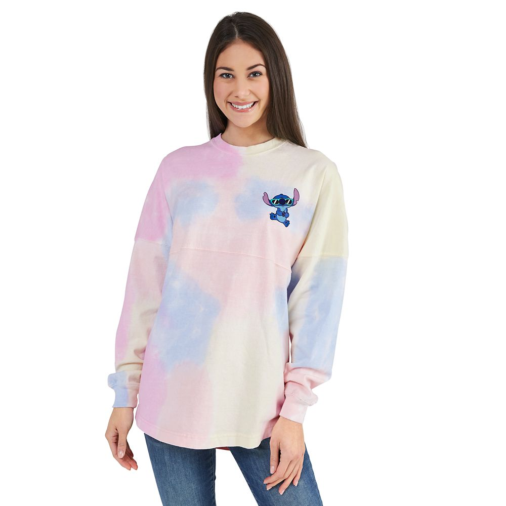 Stitch Tie-Dye Rainbow Spirit Jersey for Adults