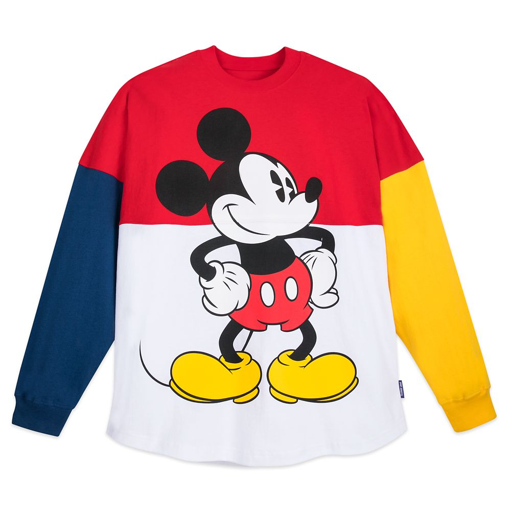 Mickey Mouse Collegiate Spirit Jersey for Adults