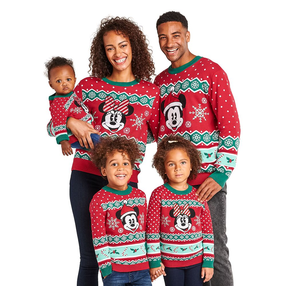 Mickey Mouse Family Holiday Sweater for Men